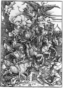 Global Poverty Durer Horsemen